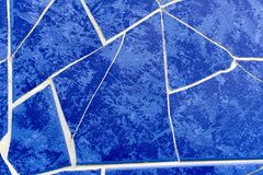 Abstrakt blåttbakgrund Arkivfoto