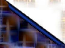 Abstrakt blåttbokstav som bakgrund Royaltyfri Bild