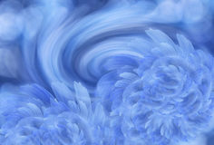 Abstrakt blåvit bakgrund med blåa pionblommor Lycklig mors dag! kortbegrepp Royaltyfria Bilder