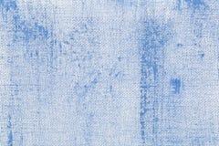 abstrakt blå camvastextur Arkivbilder