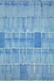 abstrakt blå vägg Arkivbild