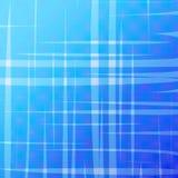 Abstrakt blå rastrerad bakgrund med ojämna band Arkivbilder