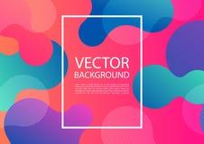 Abstrakt blandning av färger och linjer Fotografering för Bildbyråer