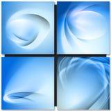 Abstrakt blauwe achtergrond Royalty-vrije Stock Afbeeldingen