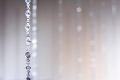 abstrakt blind kristall Arkivbilder