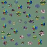 abstrakt blom- Arkivbild