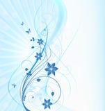 abstrakt blom- Royaltyfri Foto