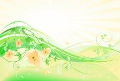 abstrakt blom- Royaltyfria Bilder