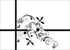abstrakt blom- Arkivfoto