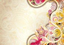 Abstrakt blom- bakgrund Royaltyfri Foto
