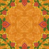 Abstrakt blom- bakgrund Royaltyfria Bilder
