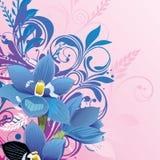 Abstrakt blom- bakgrund arkivbild