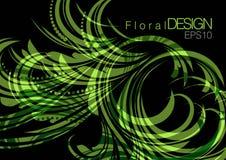 abstrakt blom- bakgrundsdesign Arkivfoton