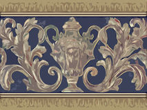 abstrakt blom- dekorativt Royaltyfri Fotografi