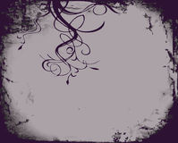 abstrakt blom- illsutration Royaltyfri Fotografi