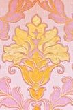 Abstrakt blom- lilatapet Arkivfoto