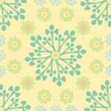 abstrakt blom- modell Royaltyfri Bild