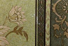 abstrakt blom- prydnad arkivfoto