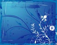 abstrakt blom- ram Royaltyfri Foto