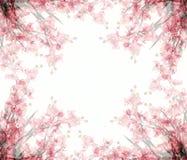 abstrakt blom- ramfoto Arkivbild