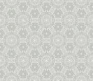 Abstrakt blom- sömlös modell för tappning Retro textur för vektor Gråa färger Royaltyfri Foto