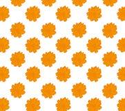Abstrakt blom- sömlös vektorbakgrundstextur Royaltyfria Foton