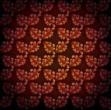 abstrakt blom- wallpaper Arkivfoton