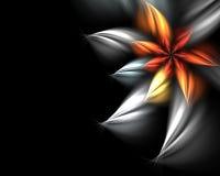 abstrakt blomma Arkivbild
