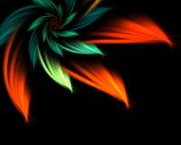 abstrakt blomma Arkivfoton