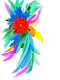 abstrakt blomma Royaltyfria Bilder