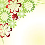 abstrakt blomma background4 royaltyfri illustrationer