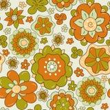 Abstrakt blommadesign Arkivbilder