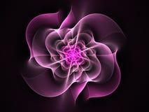 Abstrakt blommafractalform Royaltyfri Foto