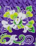 Abstrakt blommatyg Royaltyfria Foton