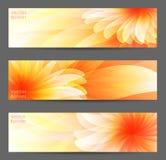 Abstrakt blommavektorbakgrund Royaltyfri Fotografi