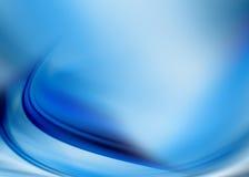 abstrakt blue Royaltyfri Illustrationer