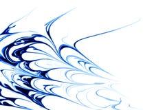 abstrakt blue vektor illustrationer