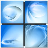 Abstrakt blue background Royalty Free Stock Images
