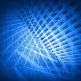 abstrakt blue för bakgrund 3d Royaltyfria Bilder