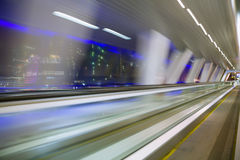 abstrakt blured korytarza długiego widok okno Obrazy Royalty Free