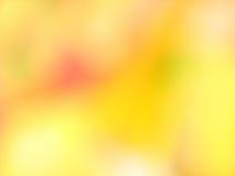 Abstrakt blured żółty tło Fotografia Royalty Free