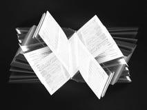 abstrakt bok Arkivfoto
