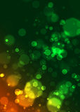 abstrakt bokeh cirklar digital effekt som Royaltyfri Bild
