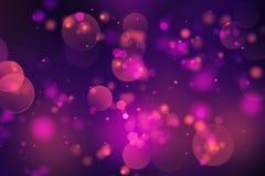 Abstrakt bokehbakgrundsdesign Royaltyfri Fotografi