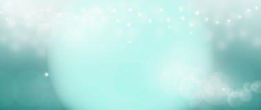 Abstrakt bokehblud blänker ljusbakgrund Royaltyfria Bilder