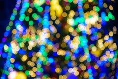 Abstrakt bokehlampor Royaltyfri Fotografi
