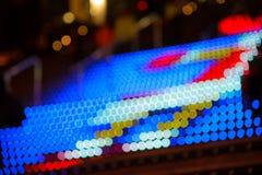 Abstrakt bokehlampor Royaltyfri Foto