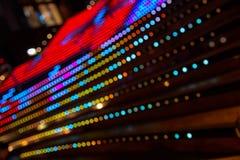 Abstrakt bokehlampor Fotografering för Bildbyråer