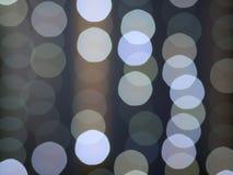 Abstrakt bokehlampor royaltyfria bilder