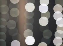 Abstrakt bokehlampor arkivfoto